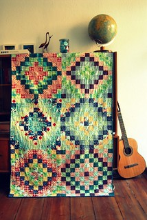 Many trips around the world quilt | by berlinquilter