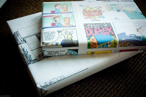 Creative Wrapping Paper, a how to. | by Jodimichelle