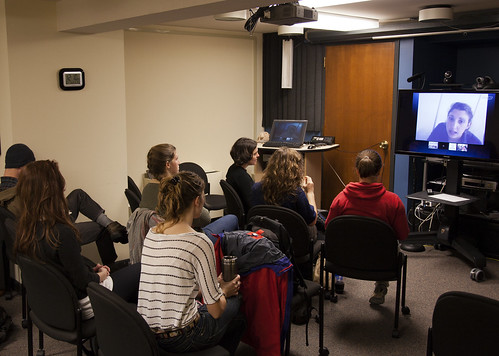 Skype call to students attending COP17 Climage Conference in South Africa
