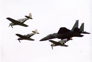 USAF Heritage flight | by tony_inkster