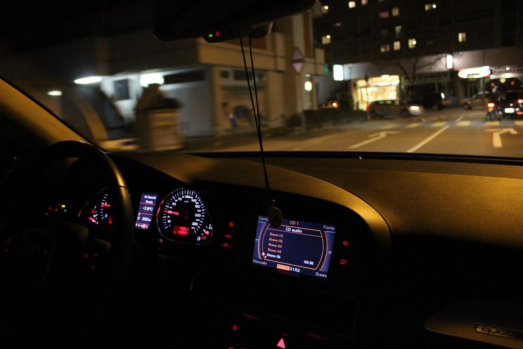 Audi A6 Night Drive Nikola Stanisavljevic Flickr
