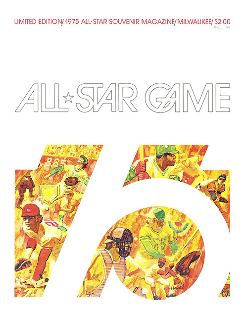 1975 ASG Program Front Cover