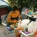 Preparing Meal during Camping Vacation by Batikart