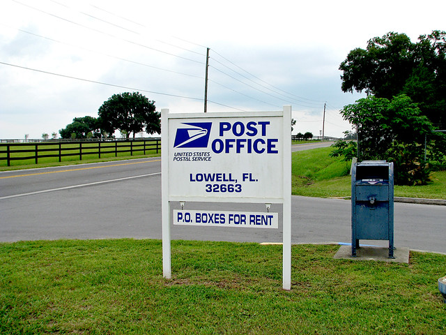 Lowell Florida Post Office