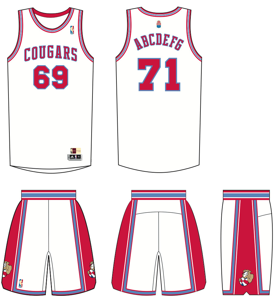 b71dba8818a NBA unveils ABA throwback uniforms for Bobcats, Nuggets, Pacers ...