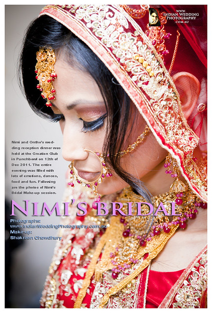 Bangladeshi Wedding - Bridal Photo-shoot, Sydney