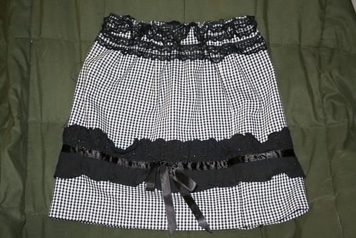 Sophia's Skirt - Upcycled Toddler Skirt Refashion