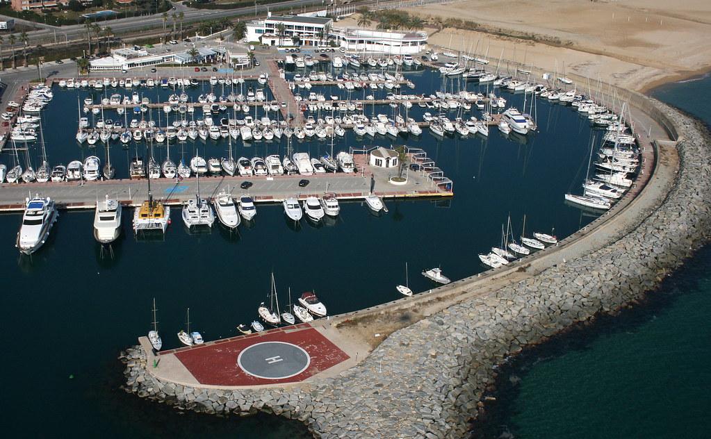 Port Balis Heliport Sant Andreu De Llavaneres Barcelon Flickr