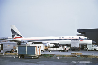N8803E Convair 880-22-2 Delta Air Lines JFK 09JUL70