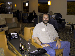 Red Carpet Lounge, SFO | by danlmarmot