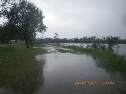 Lions Park, Bundaberg, looking towards CBD | by Witness King Tides