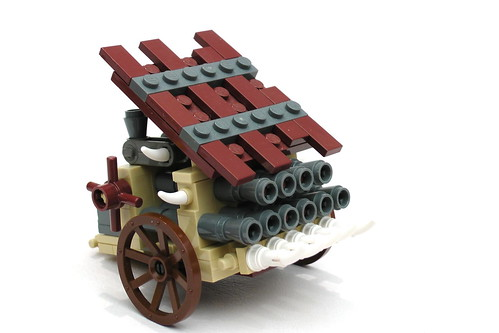 Dwarf Organ Gun - Front Right