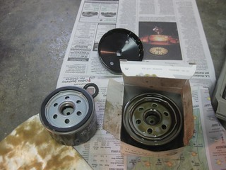 New & Used Oil Filter | by sheridesabeemer