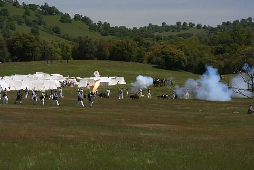 foothills green landscape meadow civilwar