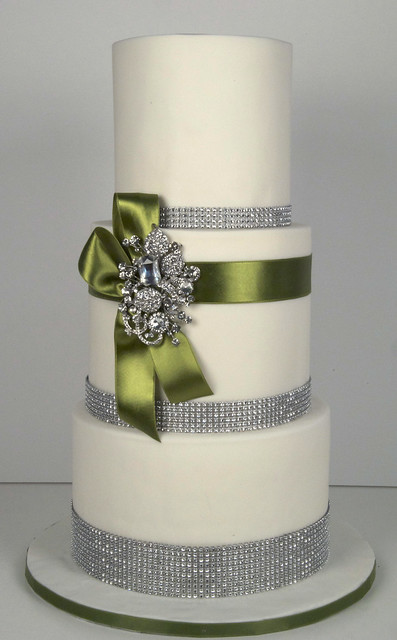 W9091 - bling wedding cake toronto