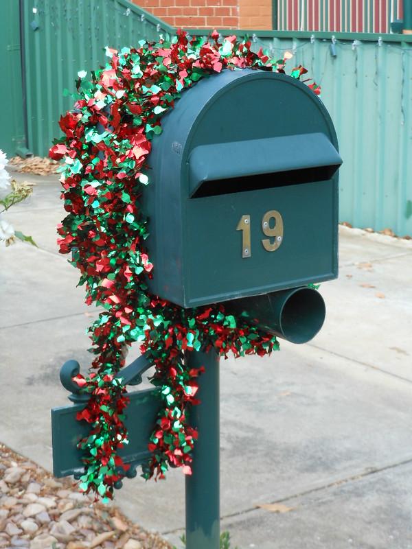 Christmas Letter Box