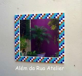 Espelho de mosaico | by ALÉM DA RUA ATELIER/Veronica Kraemer