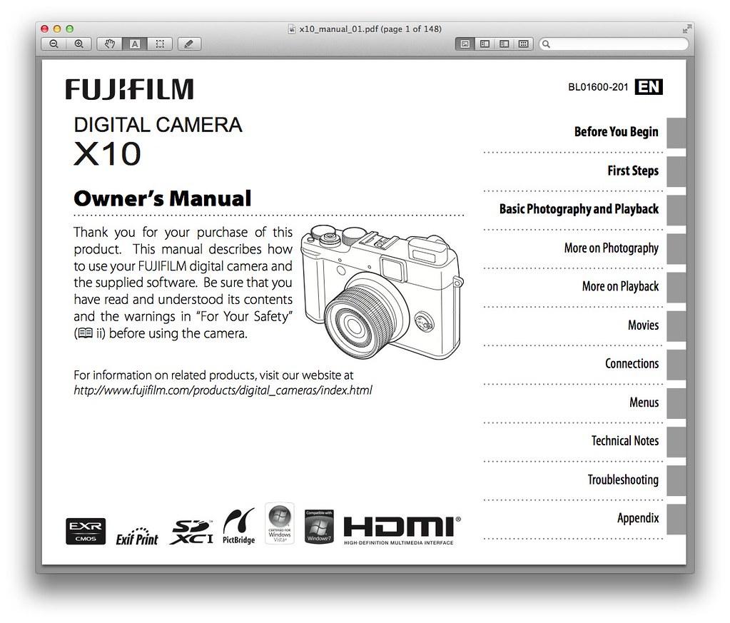 Fujifilm X10 Manual | Visit Fujifilm X10 Manual – PDF Downlo… | Flickr