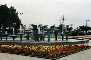 Fountains in Gdynia. Poland  1995