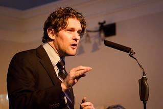Carl Dunsire of Save KEMP speaking at Thames Water public meeting - 12 January 2012