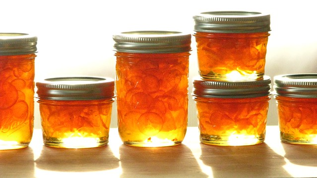 kumquat-habanero marmalade