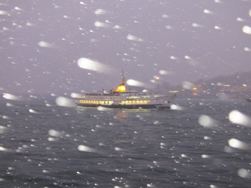 Snow in Istanbul