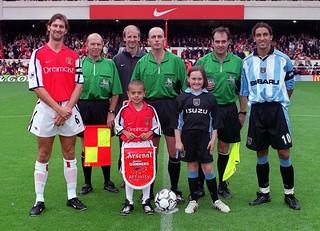 Nico Yennaris Arsenal mascot