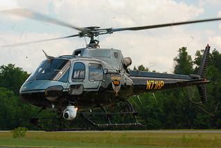 N71HP - Ohio Highway Patrol  - Eurocopter AS 350 B2 ECUREUIL - Departing Huron County Regional / 5A1!