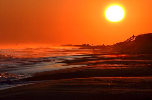 ocean sea sun ny newyork color beach nature sunrise fun evening sand waves earth longisland nikond5100