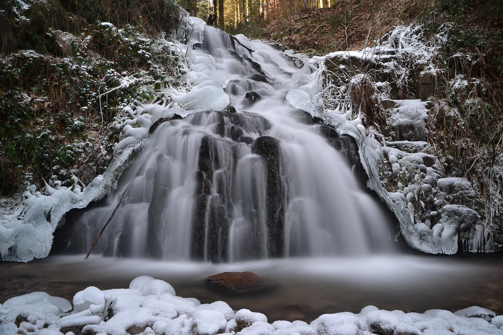 cascade de Faymont hiver 2