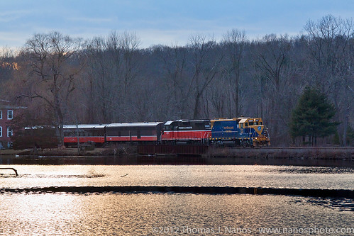 railroad cn train ma ct passenger pw canadiannational necr newenglandcentral providenceandworcester