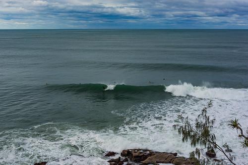 ocean winter sea beach coast sand surf waves cloudy afterthestorm australia coastal qld queensland surfers sunshinecoast coolum 2016 ptarkwright sonya7r