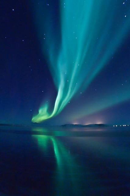 Aurora Borealis over Úlfljótsvatn