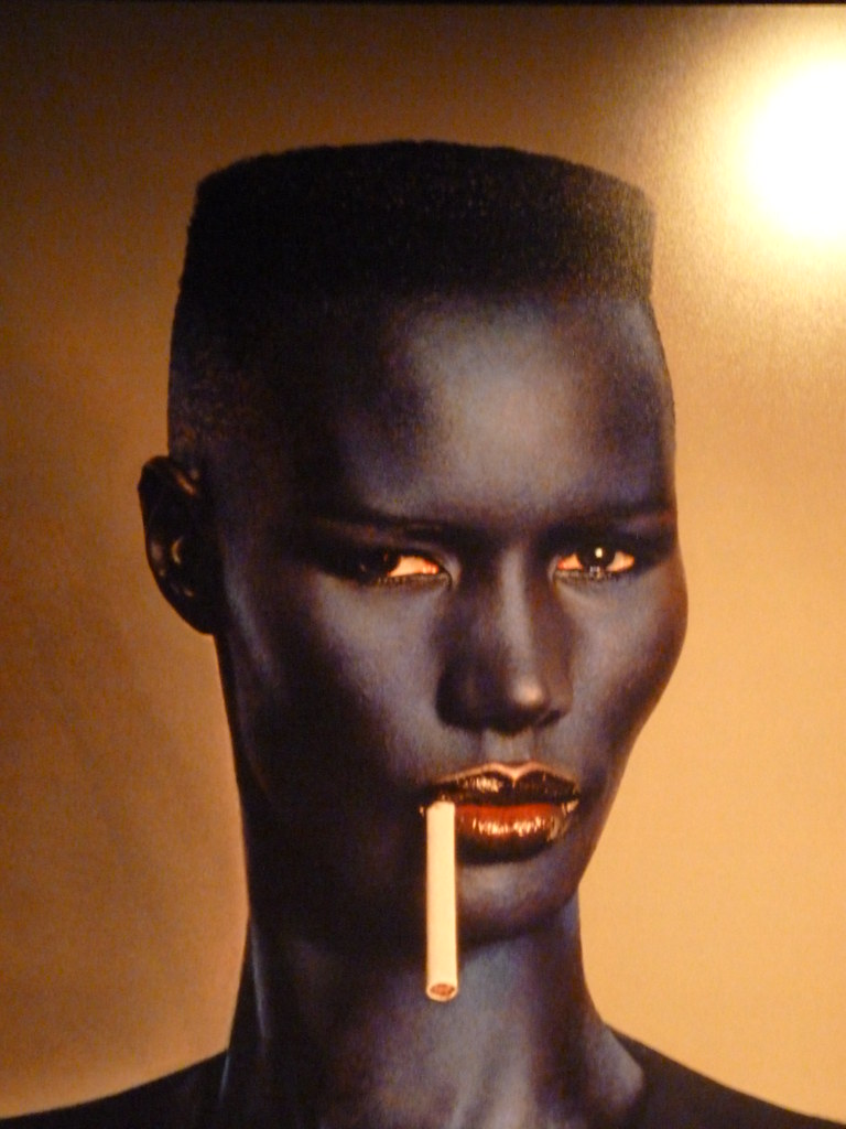 Grace Jones Par Jean-Paul Goude  Exposition Goudemalion -3474