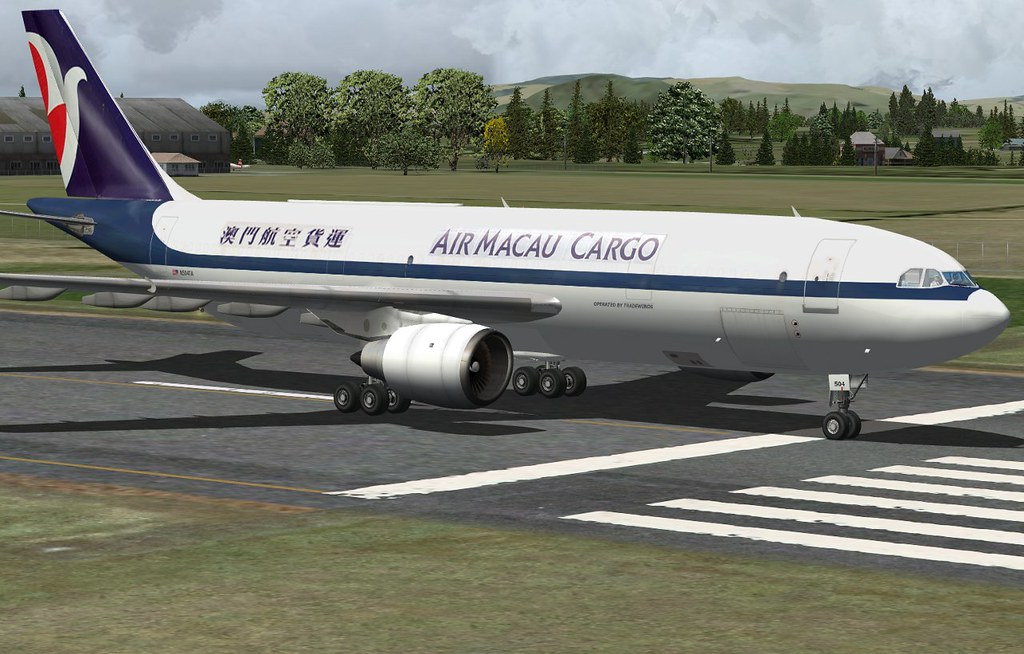 Air Macau A300-203F N504TA | Another repaint I've done for t… | Flickr
