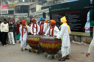 Karansingh Nagara (drum) Party from Hodal | by ramesh_lalwani