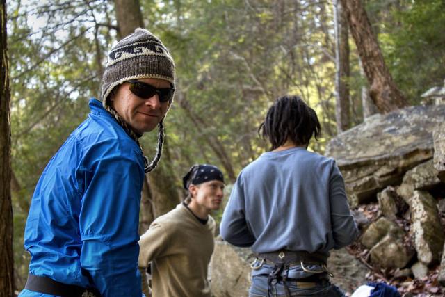 Alfred Crabtree, Clinton Elmore, Rami Ayoub, Copperhead Rock, Fall Creek Falls State Park, Van Buren Co, TN