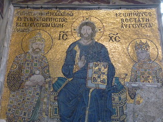 istanbul hagia sophia empress zoe and constantine (2) | by ukdamian
