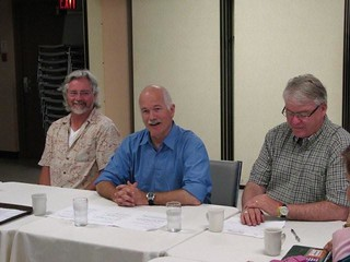 Seniors meeting with Jack Layton and Bruce Hyer - Thunder Bay - 27-07-09   by JohnRafferty, MP
