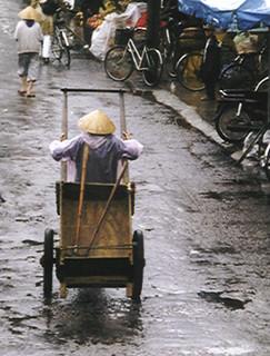 Old car in Hoi An (Vietnam 2001)
