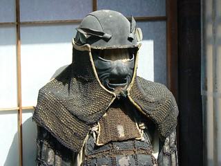Original samurai armour (Takayama, Japan 2007)