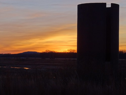 sunrise douglascounty bakerwetlands northeastkansas