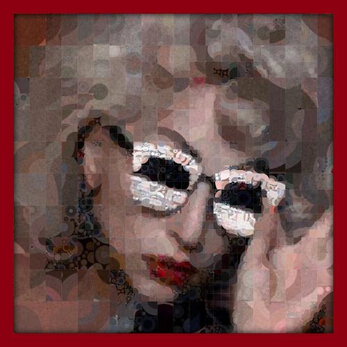 Lady Gaga In Red   by qthomasbower