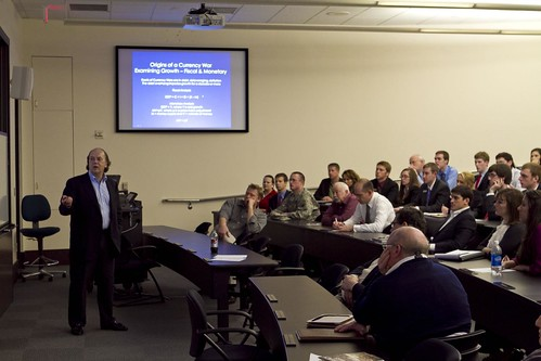 Jim Rickards visits Mays | by Mays Business School