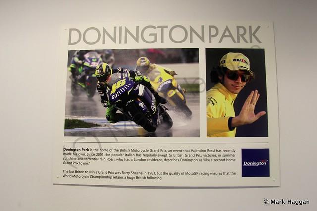 Valentino Rossi at Donington Park