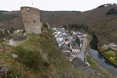 Burgruine in Esch-Sauer/ Esch-sur-Sure