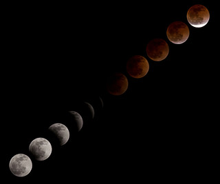 Total Lunar Eclipse Over NASA's Johnson Space Center | by NASA Goddard Photo and Video