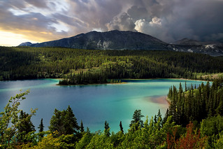 Emerald Lake From South Klondike Highway, Southern Yukon, Canada :: HDR | by :: Artie | Photography ::