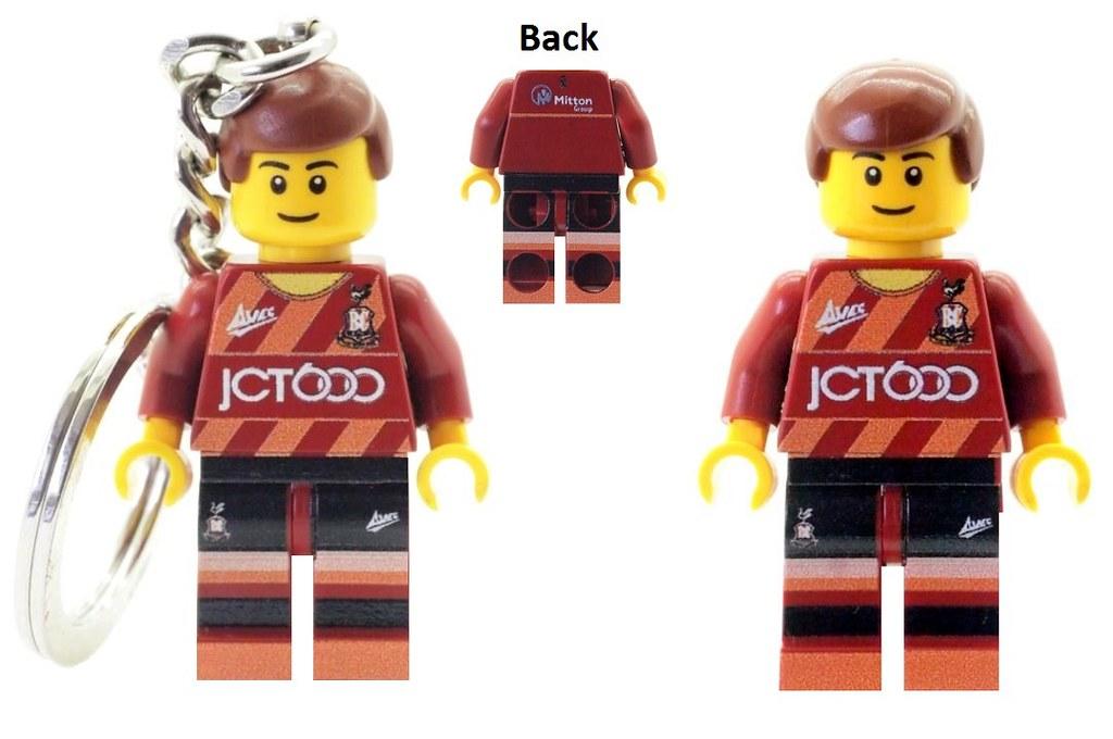 Bradford City Fan/Player 2016/17 Home Kit | Custom Printed