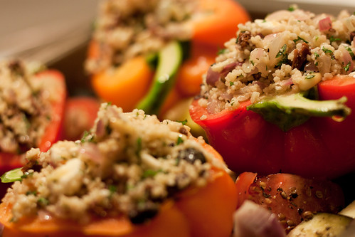 327/365 November 23 - Stuffed Bell Peppers with Roasted Veg | by Sharon Drummond